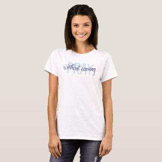 Beten Sie ohne aufhörenden Bibel-Zitat-T - Shirt