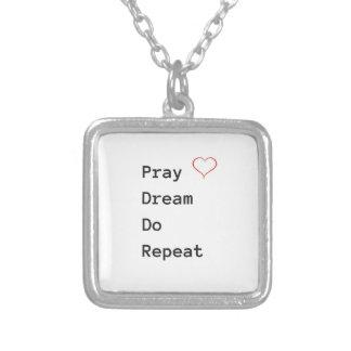 Beten Sie Traum wiederholen - Halskette