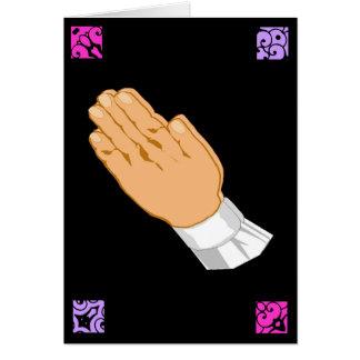 Betende Handostern-Grüße Grußkarte