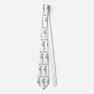 Betende Skeleton Hals-Krawatte Krawatte