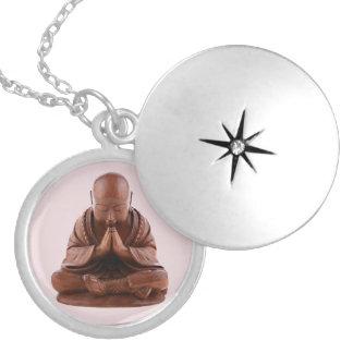 Betender Buddha Medaillon