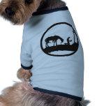 betender Cowboy Hundetshirt