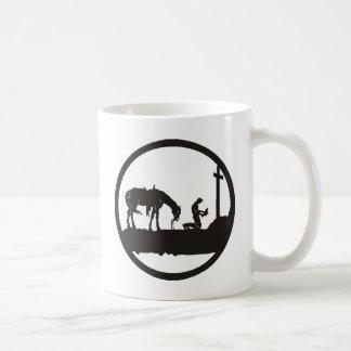 betender Cowboy Kaffeetasse