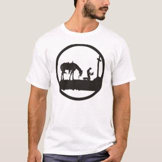 betender Cowboy T-Shirt