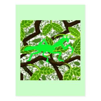 Betender Mantis Hugo Postkarte
