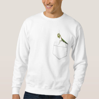 Betender Mantis in Ihrer Tasche Sweatshirt