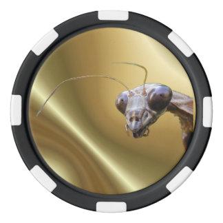 Betender Mantis ~ Pokerchipset Poker Chips