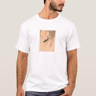 Betender Mantis und die Mond-japanischen Kunst C. T-Shirt