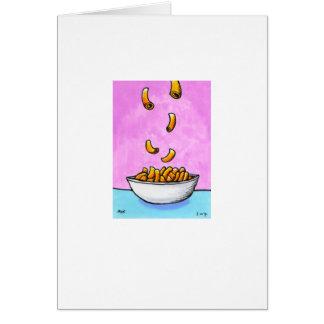 Betitelt:  Kleine Kunst #487 - Mac und Käse Karte