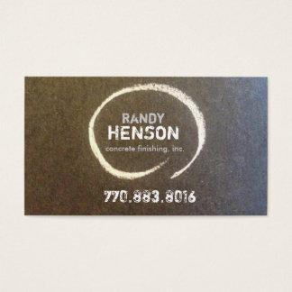 Beton Randy Henson Visitenkarte