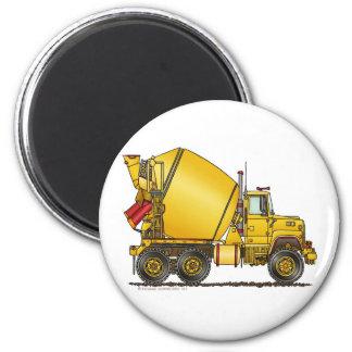 Betonmischer-LKW-Magneten Runder Magnet 5,7 Cm