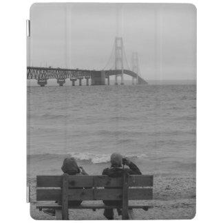 Betrachtung Mackinac BrückeGrayscale iPad Hülle