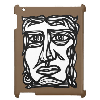 """""""Betrachtungs-Gesicht"""" iPad Fall iPad Hülle"""