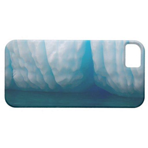 Betrachtungseisberge im Blau im Errera Kanal iPhone 5 Schutzhülle