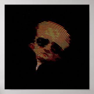 Betreten Sie das Schatten-Plakat Poster