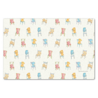 Betrifft Stuhl-Muster Seidenpapier