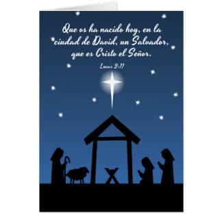 Betrug Escritura Tarjeta de Navidad Karte