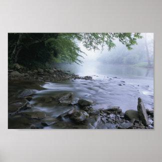 Betrüger-Fluss in West Virginia Plakate