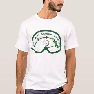 Betrunken-O-Meter lustigen St Patrick Tag T-Shirt