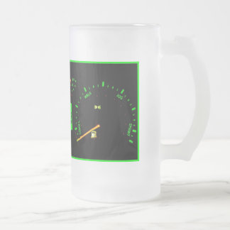 Betrunken-O-Meter Mattglas Bierglas