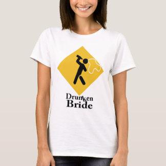 Betrunkene Braut T-Shirt