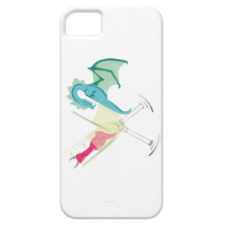 Betrunkene Drachen iPhone 5 Schutzhülle
