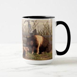 Betrunkene Schweine Tasse