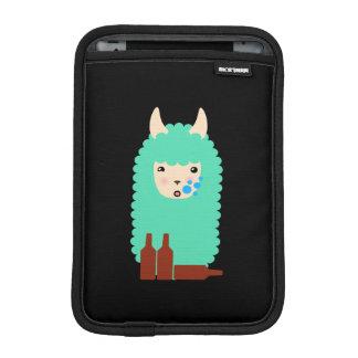 Betrunkenes Lama Emoji Sleeve Für iPad Mini