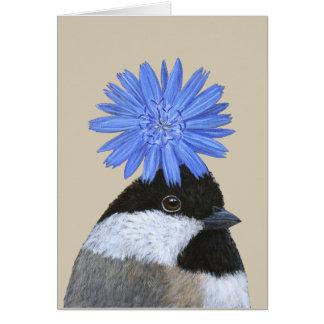 Betsy die Chickadeekarte Karte