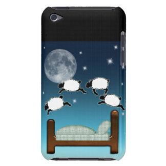 Bett Himmel u Zählung der Schafe nachts iPod Touch Hüllen