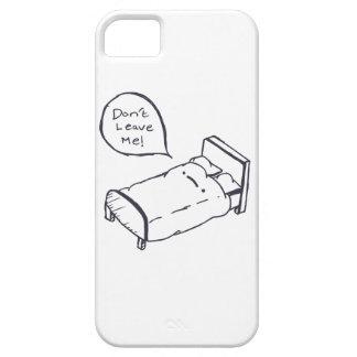 Bett-Witz-Shirt und Kleid iPhone 5 Etui