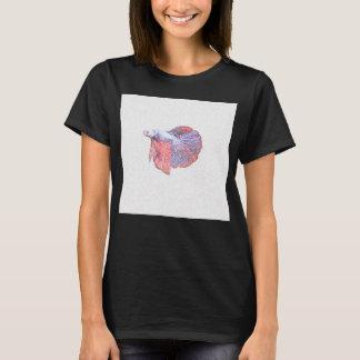 Betta kämpfendes Fisch-Entwurfs-Shirt T-Shirt