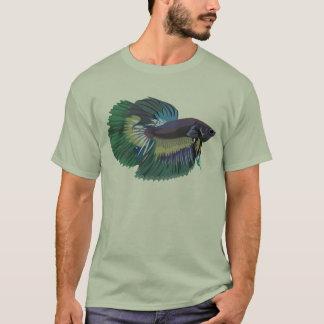 Betta siamesischer kämpfender Fisch-T - Shirt