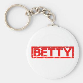 Betty-Briefmarke Schlüsselanhänger