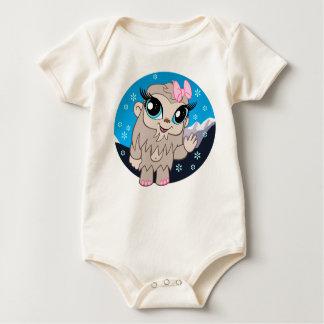 Betty der Yeti (Bio) Baby Strampler
