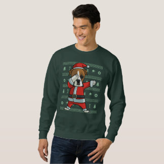 Betupfender BoxerhundT - Sweatshirt