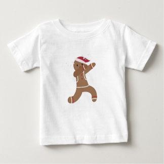 Betupfendes Lebkuchen-Mannweihnachten lustig Baby T-shirt