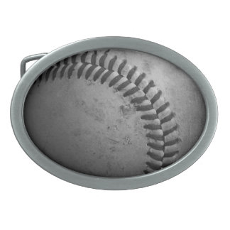 Beunruhigte Baseball-Gürtelschnalle Ovale Gürtelschnallen