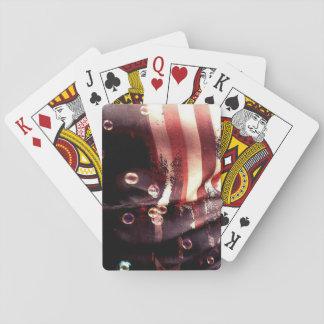 Beunruhigte Flagge-Spielkarten Spielkarten