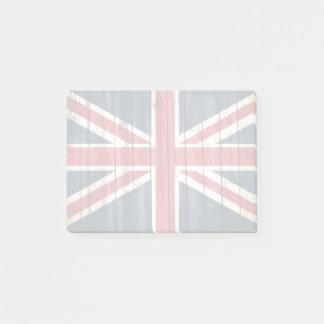 Beunruhigte Landesflaggen | Großbritannien Post-it Klebezettel