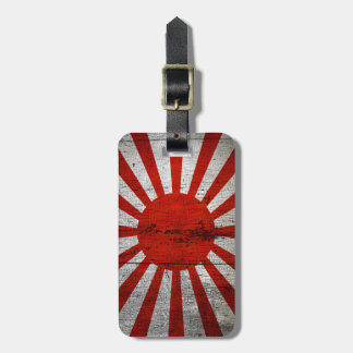 Beunruhigte Landesflaggen   Japan Kofferanhänger