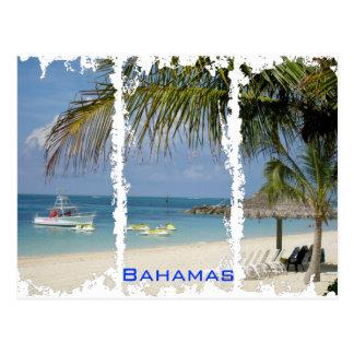 Beunruhigte Postkarte Bahamas 2