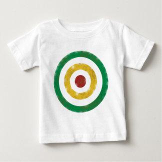 Beunruhigte Rasta Ringe Baby T-shirt