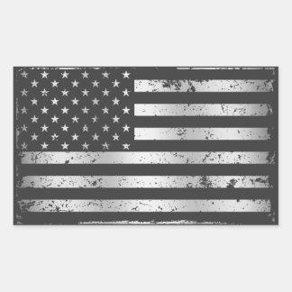 Beunruhigter Aufkleber der Flagge-II