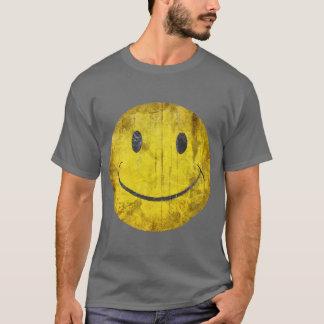 Beunruhigter Smiley-T - Shirt