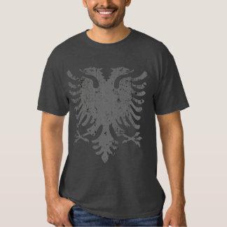 Beunruhigtes Albaner-Eagle-Wappen Shirt