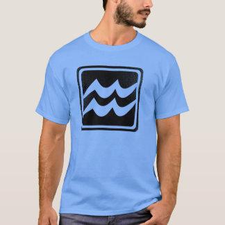 Beunruhigtes astrologisches Zeichen des T-Shirt