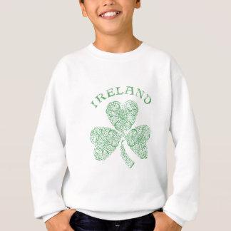 Beunruhigtes irisches Kleeblatt Sweatshirt