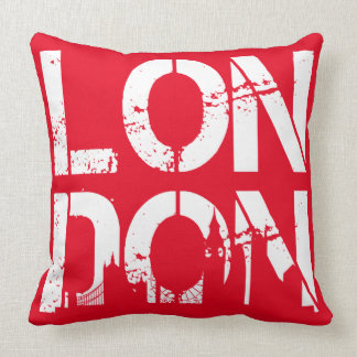 Beunruhigtes London mit berühmter Kissen