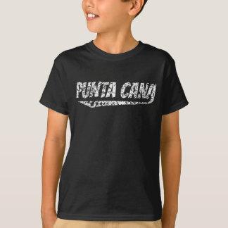 Beunruhigtes Retro Punta Cana Logo T-Shirt